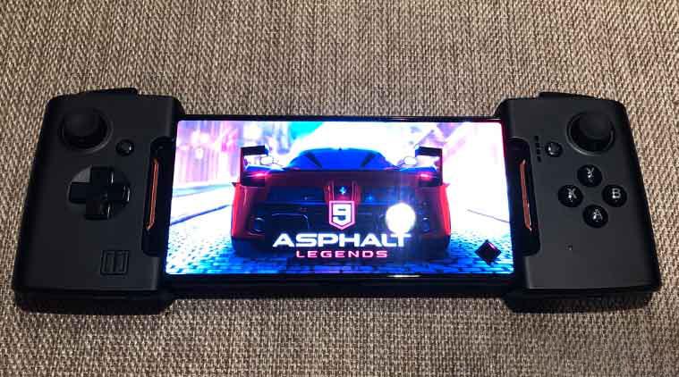 Asus ROG Phone with 3D vapor