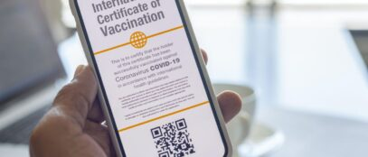 Covid-19 vaccine certificate
